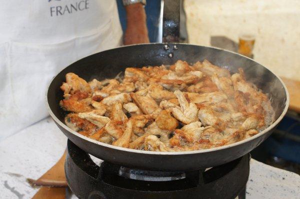 Journée cuisson d'une spécialté locale