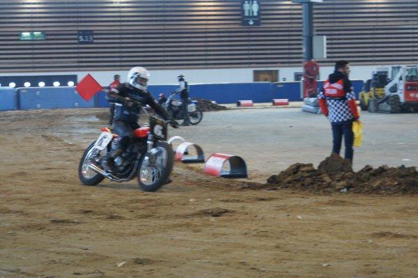 Flat track au salon de la moto