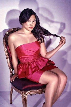 Jenna Ushkowitz alias Tina Cohen-Chang