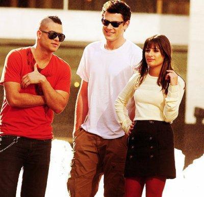 Puck , Rachel , Finn