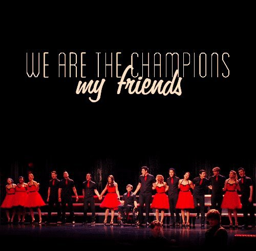 Glee We Are the Champions