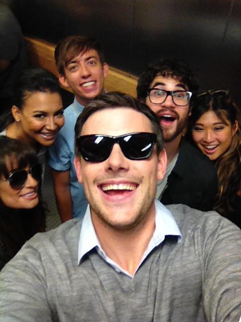 Darren , Lea , Cory , Naya , Kevin & Jenna