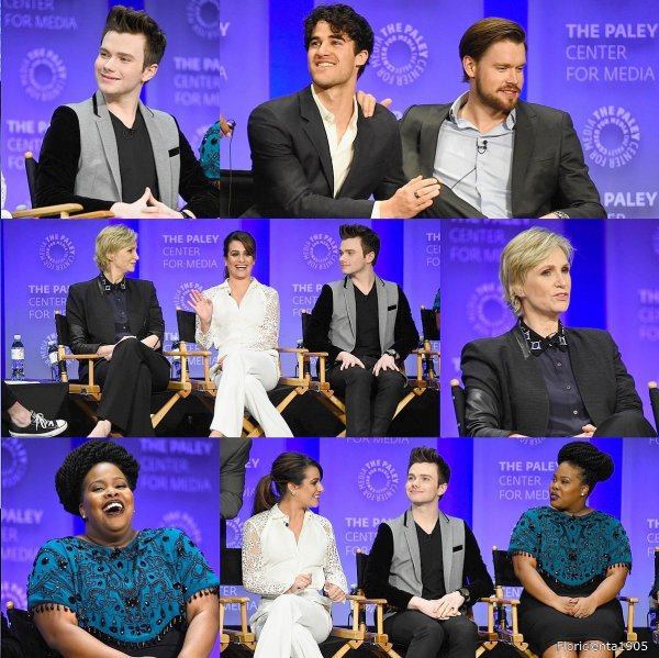 Arriver du cast de Glee à l'événement 'PaleyFest'