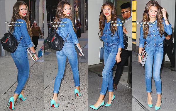 _ 01/05/2014 : Zendaya Coleman, plus belle que jamais, a été photographiée dans les rues de New York. - Top ?  -