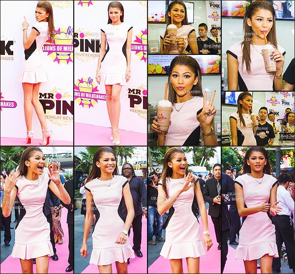 _ 28/05/2014 - Zendaya C. était à l'ouverture de  Millions Of Milkshakes - A Shanghai -