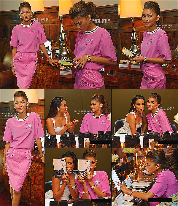 _ 30/06/2014 - Zendaya Coleman présente était à l'événement « Letters To The Men I Have Loved » Book Launch Dinner à Los Angeles, Elle a également pris la pose avec Mirtha Michelle, Vin Diesel et son papa. Qu'en pensez-vous? Flop...-