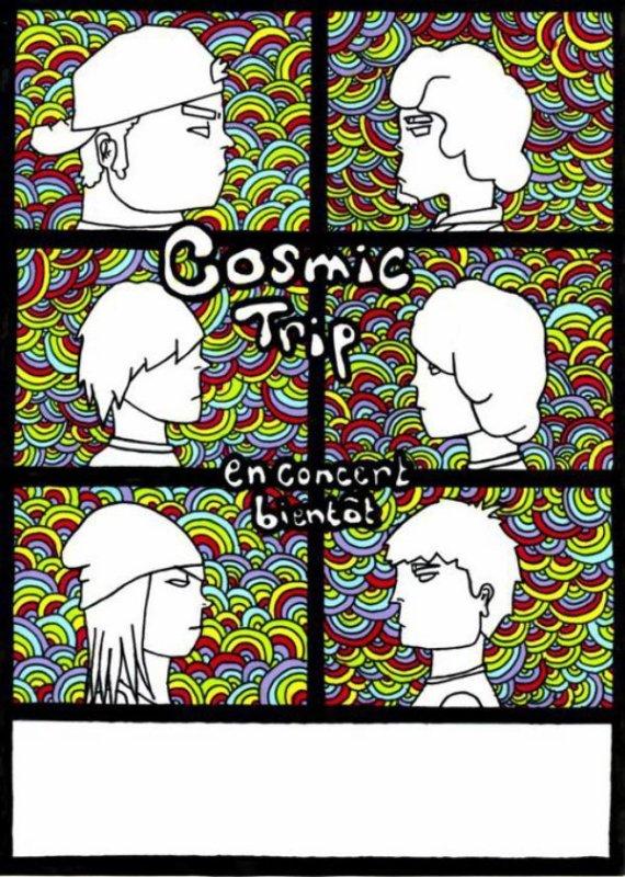 Affiche Cosmic Trip