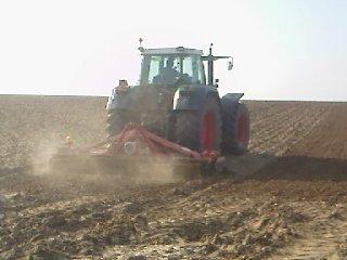 Preparation des terres