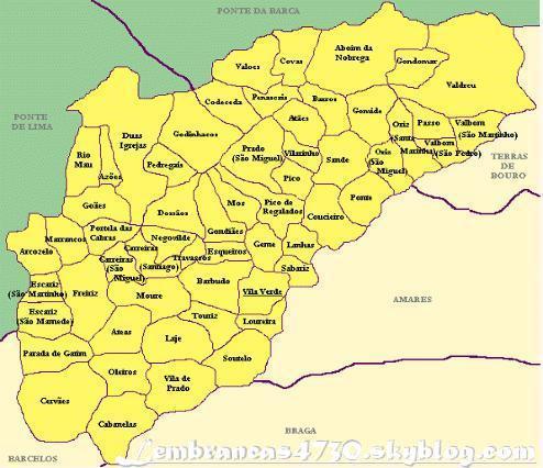 mapa vila verde braga MaPa DaS 58 FrEgUeSiAs   [  4730 ViLa VeRdE 4730  ] mapa vila verde braga