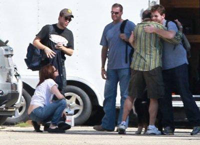 Stewart & Robert arrivant à leurs location au Baton Rouge à Los Angeles. Vendredi 20 octobre 2010 (Ils passent beaucoup de temps ensemble!!! ^^ )