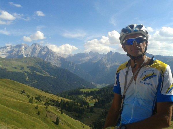sortie du 28/08/15 dans les Dolomites.