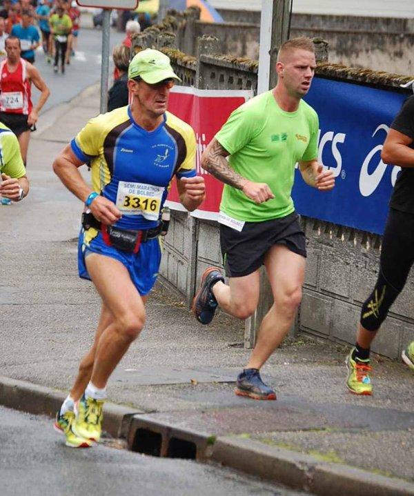 Petites photo du semi marathon de Bolbec samedi avant la Fournaise Dimanche