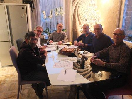 Samedi 13 Janvier 2018 Réunion du Bureau VTT Cyclo