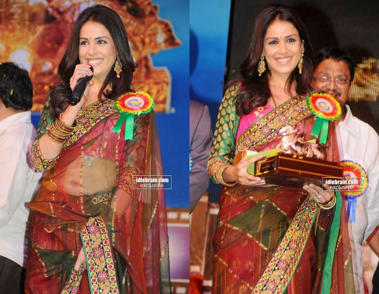 Genelia wins the Nandi Awards for Katha !