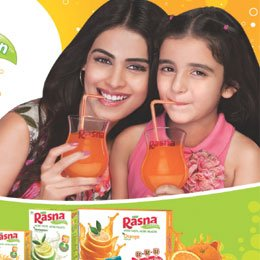 Genelia in Rasna Juice Ad