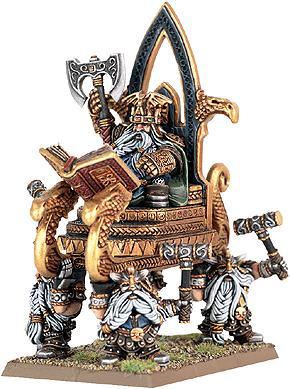 Haut roi thorgrim le rancunier nain le hobby for Portent warhammer