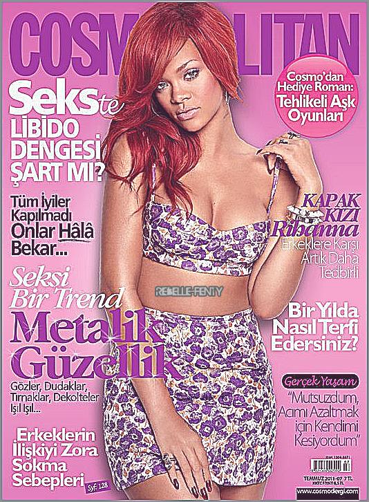 Rihanna fait une nouvelle fois la Une de 'Cosmopolitan' édition Turc