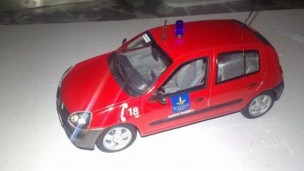 VLB Renault clio SDIS 45