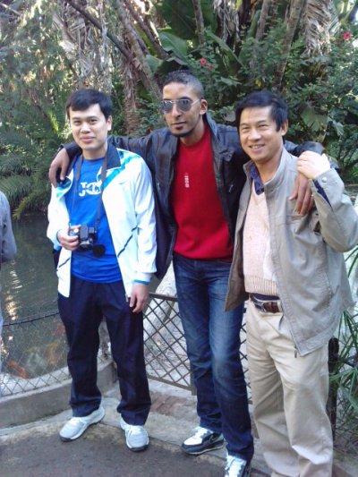 moi et des amis chinois