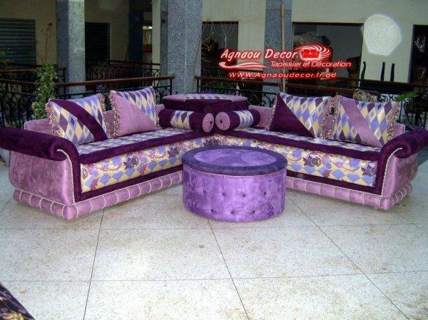 salon marocain Tapissier S9