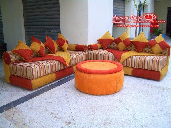 salon marocain Tapissier S12