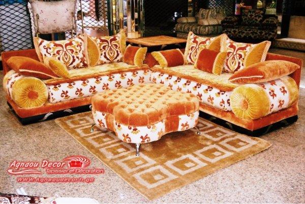 salon marocain Tapissier S10