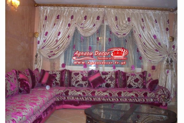 salon marocain Tapissier S7