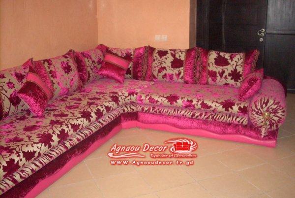 blog de salons marocains page 9 salons marocains 2017 2018 salon marocain moderne tapissier. Black Bedroom Furniture Sets. Home Design Ideas