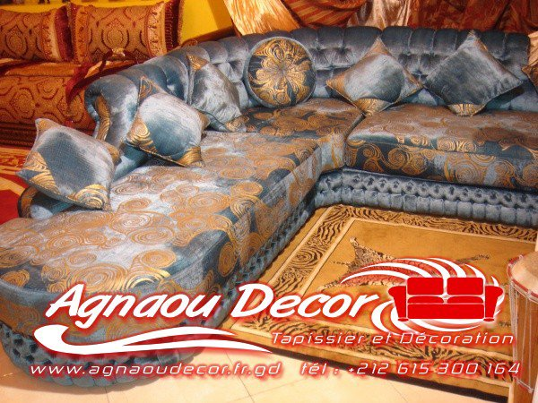 salon marocain Tapissier S1