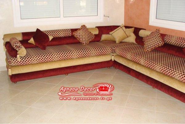 salon marocain Tapissier S11