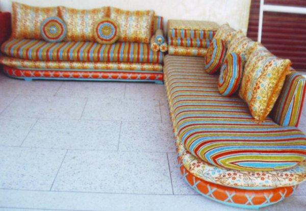 salon marocain Tapissier S21