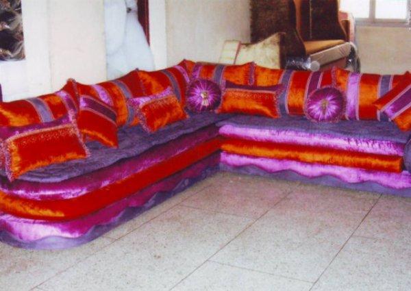 salon marocain Tapissier S17
