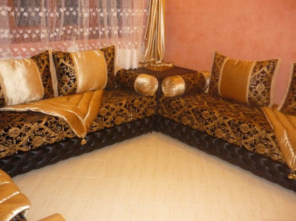 salon marocain Tapissier S19