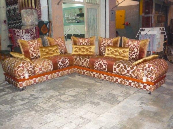 salon marocain Tapissier S22