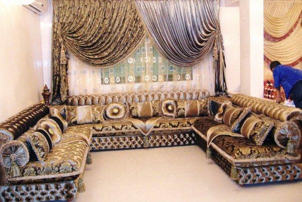 salon marocain Tapissier S36