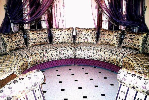 salon marocain Tapissier S54