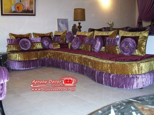 salon marocain Tapissier S52