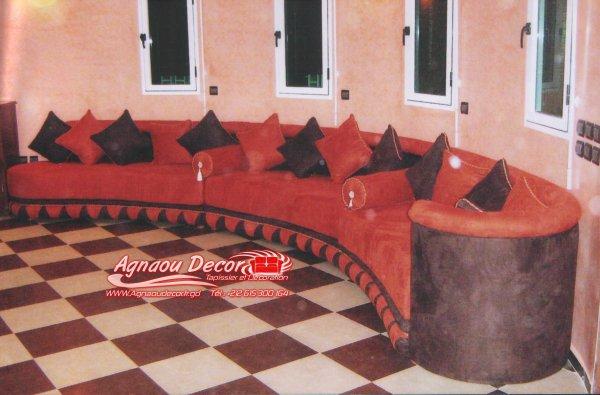 salon marocain Tapissier S49