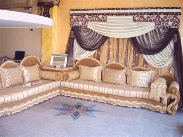 salon marocain Tapissier S46