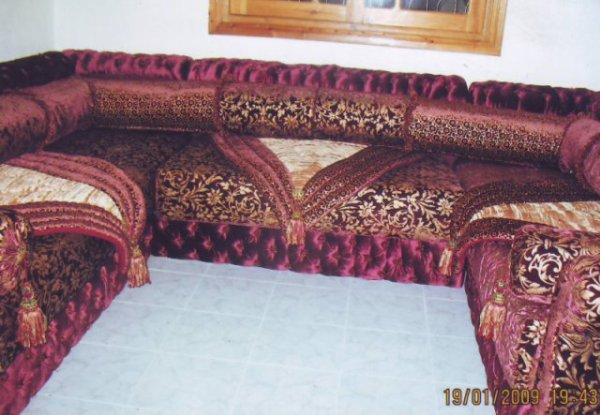 salon marocain Tapissier S45