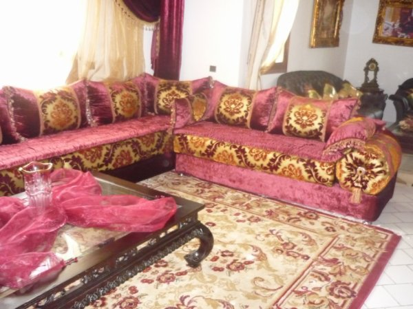 salon marocain Tapissier S43