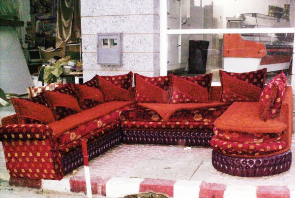 salon marocain Tapissier S40