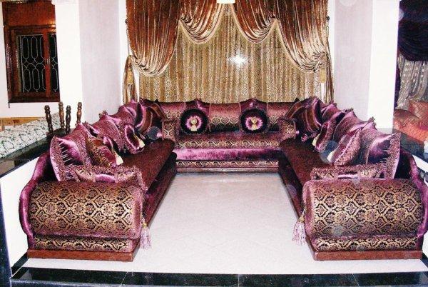 salon marocain Tapissier S38