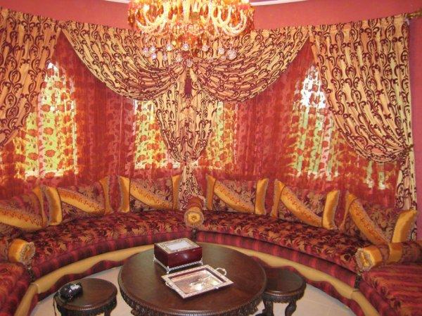 Salon Marocain Tapissier S55