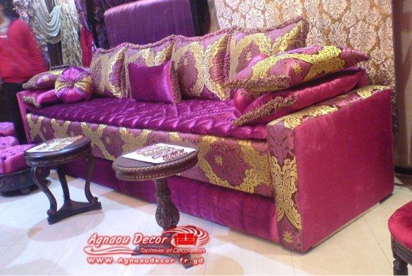 Salon Marocain Tapissier S56