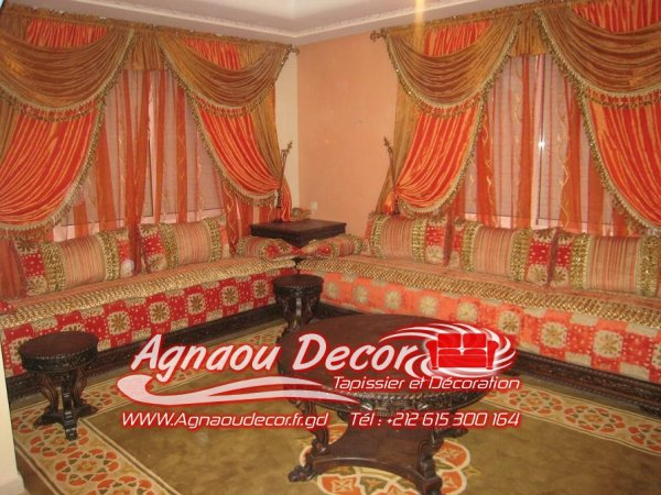 salon marocain salons marocains 2017 2018 salon marocain. Black Bedroom Furniture Sets. Home Design Ideas