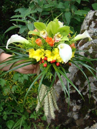 bouquets de marié ronds 1