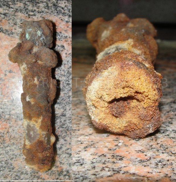Restaurations de mes objets de fouilles du 29/05