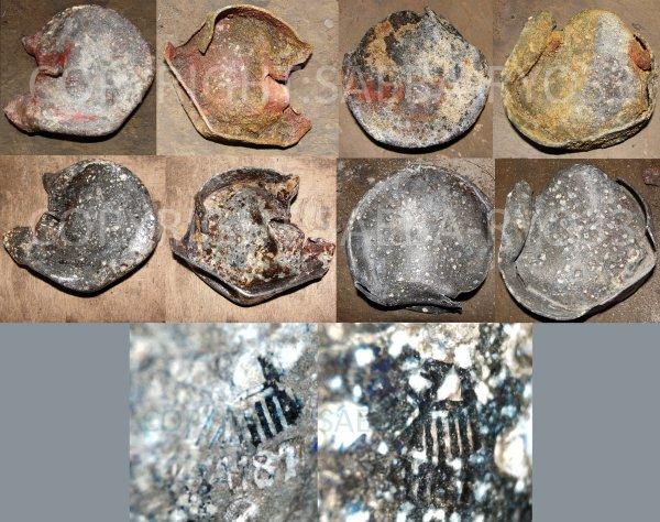 Restaurations de mes objets de fouilles du 09/06