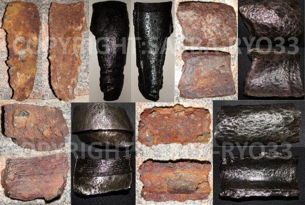 Restaurations de mes objets de fouilles du 07/09